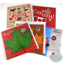 2008-2016 Oh Canada Commemorative Decimal Gift Sets. You will receive 2008, 2010, 2014, 2015 & 2016.