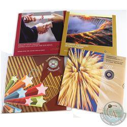 2005-2010 Canada Commemorative Decimal Gift Sets. You will receive 2005 Graduation, 2005 Oh Canada,