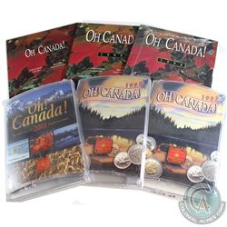 1994-2001 Oh Canada Gift Sets Most Still Sealed in Original Plastic Wrap. You will receive 1994, 199
