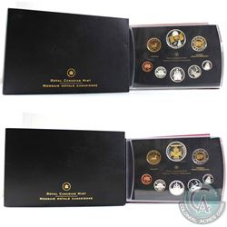2005 Canadian National Flag 40th Anniversary & 2006 Canada Victoria Cross Proof Double Dollar Sets (