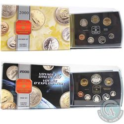 2000 Canada Polar Bear Specimen Set & 2000 Voyage of Discovery Double Dollar Proof Set (the Proof se