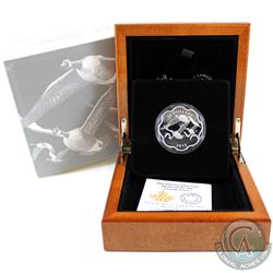 2015 $20 Canada Goose - Master of the Sky Fine Silver Coin (capsule lightly scratched & outer sleeve