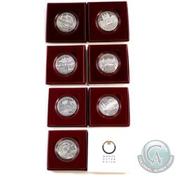 Austrian Mint Issue: 2006-2009 Austria 10 Euro Sterling Silver Coins Commemorating Different Austria