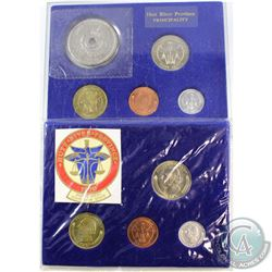 Royal Mint of Hutt Issue: 1976 4-coin & 1977 5-coin Hutt River Province Principality Coin Sets (Hard