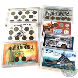 U.S. Commemorative Mints Issue: Lot of USA Commemorative Sets. You will receive WWI Lincoln Wheat Pe