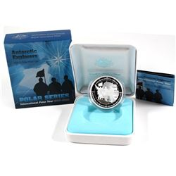 Royal Australian Mint Issue: 2009 Australia $5 International Polar Year Antarctic Explorers Fine Sil