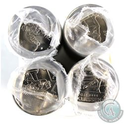 Lot of 4x 2009 Canada Olympic 25-cent Original Rolls of 25pcs. You will receive 2009 Cindy Klassen,