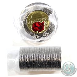 2018 Canada $2 Armistice ALL Coloured Regular Wrap Roll of 25 pcs