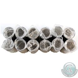12x 1992 Canada 25-cent Commemorative Original Rolls of 40pcs. You will receive every Provincal exam