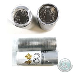 2017 Canada 25-cent Stanley Cup Original Rolls - Special Wrap & Regular. 2pcs