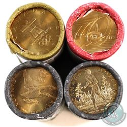 2005-2010 Canada Loon $1 Special Wrap Original Rolls of 25pcs. You will receive 2005 Terry Fox, 2006