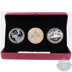 2019 Royal Canadian Mint Coin Lore: Back To Concept 2-coin Fine Silver Set (capsules are lightly scr
