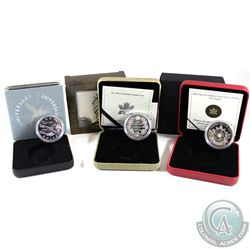 1997 Canada 10th Anniversary Flying Loon Dollar, 1911-2001 Sterling Silver Proof Commemorative Dolla