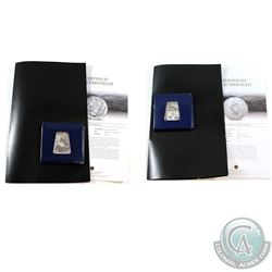 "2011 Australia 1oz Fine Silver Koala Berlin Bear Privy & 2011 F15 France Silver Proof 10 Euro ""The S"