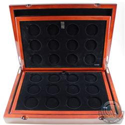 RCM Issue: EMPTY Royal Canadian Mint Master Club Monogram Collector Display Case with 2 trays. Stunn