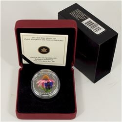 2013 Canada $20 Purple Coneflower & Eastern Tailed Blue Butterfly (Tax Exempt).