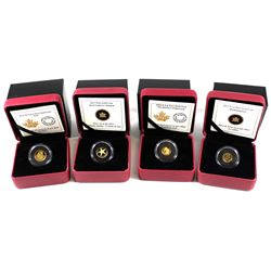 2013-2015 Canada Fine Gold Coin Collection (Tax Exempt). You will receive the 2013 50-cent Starfish,