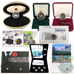 1982-2010 Canada RCM Collection. You will receive 1982 Constitution Dollar, 1999 Proof Millennium 25