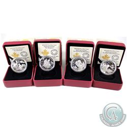 2014 Canada $15 Exploring Canada Fine Silver Coin Collection (Tax Exempt). You will receive Pioneeri