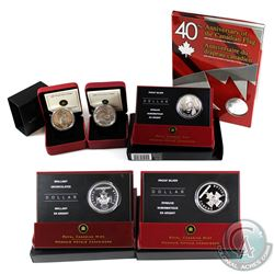2005-2008 Canada Dollar Collection. You will receive 2005 BU Dollar with Interactive CD-ROM, 2005 Pr