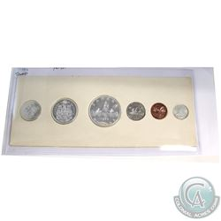 1959 Canada 6-coin Proof Like Set in White Cardboard Holder. Coins contain light toning.