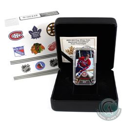 2019 Canada $25 Montreal Canadiens Yvan Cournoyer Rectangular Fine Silver (Tax Exempt)