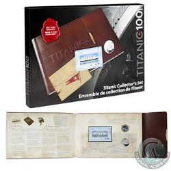 2012 Canada Titanic 2-Coin and Stamp Collector's Set (the 50-cent capsule has a small chip & outer c