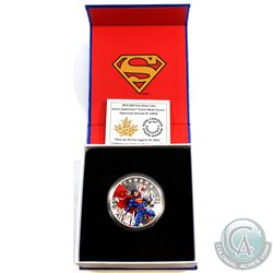 2014 Canada $20 Iconic Comic Book Covers: Superman Annual #1 Fine Silver Coin (Tax Exempt)