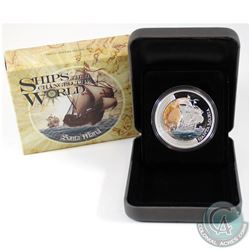 Perth Mint Issue: 2011 Tuvalu $1 Ships that Changed the World - Santa Maria Fine Silver Proof Coin (