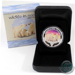 Perth Mint Issue: 2012 Tuvalu $1 Wildlife in Need - Polar Bear Fine Silver Proof Coin (Tax Exempt)