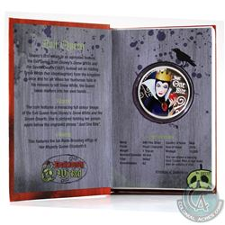 New Zealand Mint Issue: 2018 Niue $2 Disney Villains - Evil Queen 1oz. Fine Silver Coin (Tax Exempt)