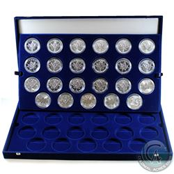1988-2018 Canada $5 Silver Maple 1oz Fine Silver Coin Collection (Tax Exempt). You will receive 23 d
