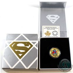 2015 Canada $100 Iconic Superman Comic Book Covers: Superman #4 14K Gold. Please note outer packagin