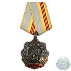 Soviet Russia - Order of Labour Glory Medal & Ribbon.