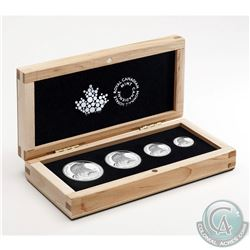 2015 Canada Bald Eagle Fractional Fine Silver 4-coin Set (Tax Exempt)