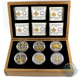 2015 Canada Legacy of the Nickel 6-Coin Fine Silver Set in Deluxe Box (Tax Exempt)