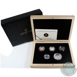 2010 Canada's Voyageur Dollar Anniversary Limited Edition 5-coin Proof Set.