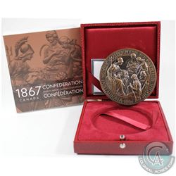 1867-2017 Canada 150th Anniversary of Confederation Bronze Medallion issued by The Canadian Heritage