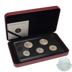 2006 Canada 10th Anniversary $2 coin - Concept Test Token Set. Please note plastic holder contains a
