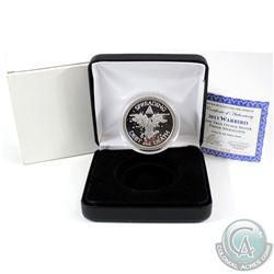 2013 Silver Bullet Silver Shield 'Warbird' 1oz Fine Silver Proof Coin Encapsulated in Black Display