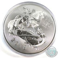 2018 Great Britain 10oz Valiant .9999 Fine Silver Coin in Capsule (scuffed capsule) Tax Exempt