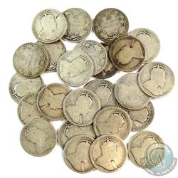 Estate Lot 1902-1910 Edward VII 25-cent Collection. You will receive at least one of each date from