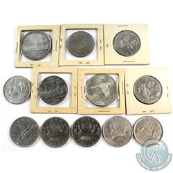 Estate Lot 1939-1982 Canada Dollar Collection. You will receive 1939, 1967, 1968, 1969, 2x 1970, 197