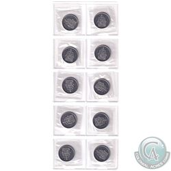Estate lot 2003WP New Effigy 50-cent Proof Like collection. You will receive 10x coins which were is