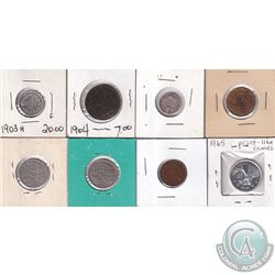Estate Lot 1903-1965 Canada Type Coin Collection. You will receive 1903 10-cent, 1904 Large 1-cent,