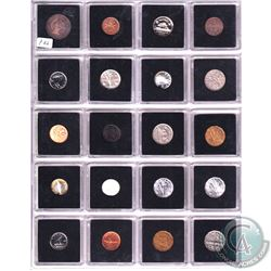 Estate Lot 1888-2006 Canada Coin Collection in Collector Pages. You will receive a range of denomina