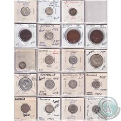 Estate Lot 1816-2008 World Coin Collection in Binder Pages. You will receive a range of coins, mostl