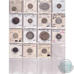 Estate Lot 1914-1975 World Coin Collection in Binder Pages. You will receive a range of coins from P