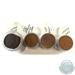 Estate Lot 1897-1967 Great Britain One Penny Collection. You will receive 107 coins in this collecti