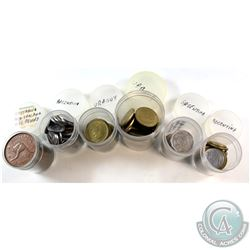 Estate Lot - World Coin Collection. You will receive over 160 coins, mostly from Argentina, Uruguay,
